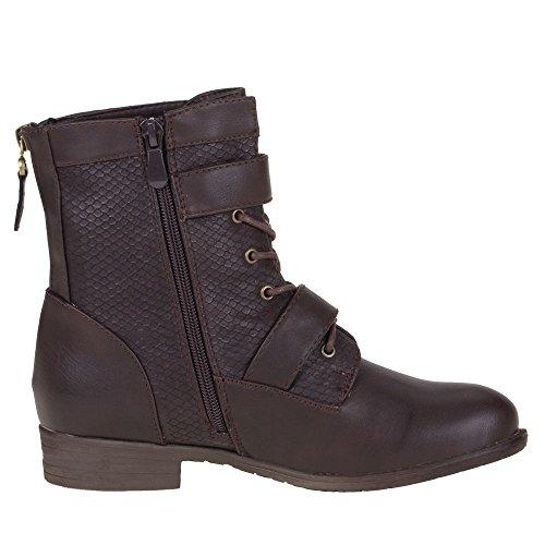 ... STIEFELETTEN Braun Damen Schuhe, 412, STIEFELETTEN Braun