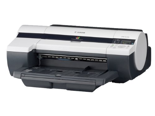 """Canon imagePROGRAF iPF510 17"""" imprimante grand format couleur jet d'encre Rouleau (43,2 cm) capacité : 250 feuilles USB, 10/100Base-TX"""