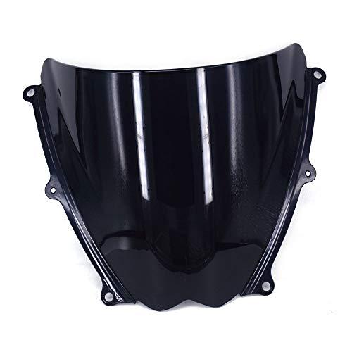 Un Xin Noir Pare-Brise Pare-Brise écran Double Bubble pour Suzuki Gsxr1000 K7 07-08