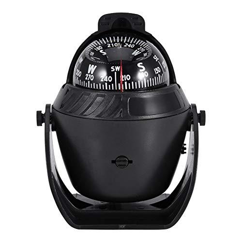 LTGJJ Digitaler Navigationskompass LED-Licht Digitaler Kompass Boot Schiff Kompass Elektronisches Fahrzeug Digitaler Autokompass Navigation