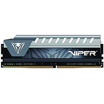 Viper Elite DDR4 2666 8GB (1x8GB) C16 Módulo de Memoria Alto Rendimiento XMP 2.0 Negro/Gris PVE48G266C6GY
