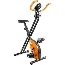 We R Sports We R Sports Folding X-Bike - Bicicletas estáticas ( plegable, imán, magnético ), color naranja