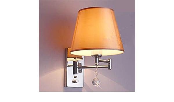 Zqq altalena luce applique lampada parete lampada comodino camera
