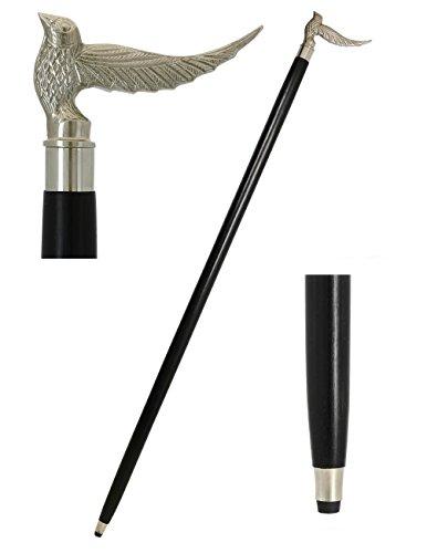 91 cm sitzen Vogel Spazierstock - Inspiriert von Irish Spazierstock Designs - Handcrafted Stöcke und Wanderstöcke