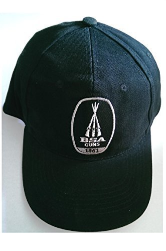 BSA Armes carabine à Air comprimé Chapeau Casquette De Baseball Noir fait de 100% coton