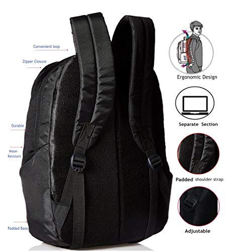 "96ca32e6ea ... ""BUDDY"" 31 Lt Black Lite weight Casual Backpack I School Bag · POLE  STAR POLE STAR ..."
