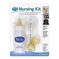 PetAg Nursing Kit, White/Yellow, 4 oz