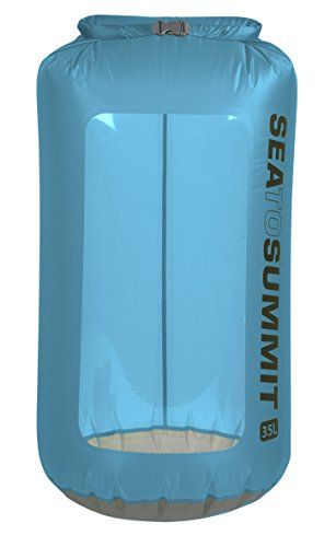 Sea to Summit–Ultra-Sil View Drysack–ultraleichter étanche sac fourre-tout avec fenêtre Bleu 2L - ø13 x 29cm, 28g