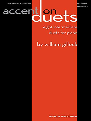 Accent on Duets: Eight Intermediate Duets for Piano