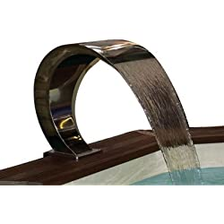 Cascada piscina Mini Bali (50cm, fijación sin anclaje