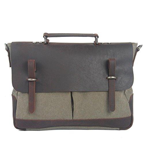 Europa e negli Stati Uniti gli uomini e le donne delle borse del pacchetto di affari del sacchetto di spalla di svago pacchetto messenger , army green army green