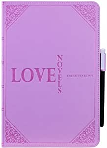 Ozaki OC103LK Wisdom Love Novel - Housse pour Apple iPad mini, couleur Rose