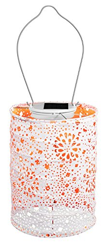 Neon Orange Allsop Home and Garden Soji Stella Dream LED Outdoor