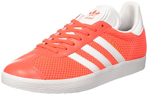 adidas Gazelle, Zapatillas de deporte Unisex Adulto, Varios colores (Solar Red/Footwear White/Solar Red), 44 EU