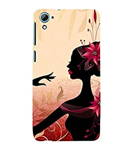 99Sublimation Animated Girl 3D Hard Polycarbonate Back Case Cover for HTC Desire 826 Dual Sim