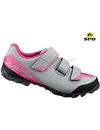 Shimano SHME2PG380WG00 - Zapatillas Ciclismo, 38, Gris, Mujer