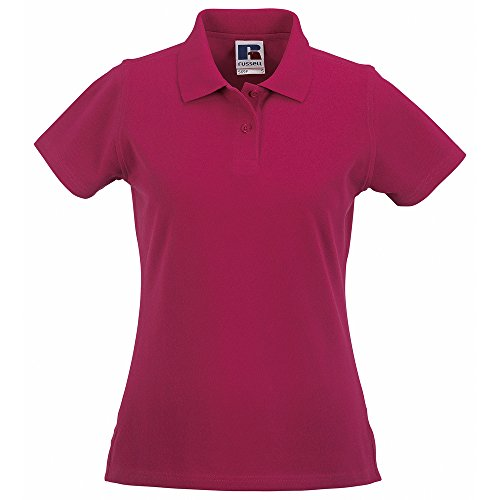 Russell Athletic - Polo - Femme Rose - Fuchsia