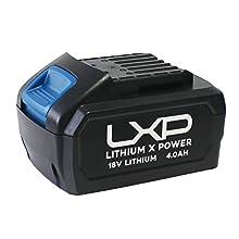 Hyundai HY-HYB18-4 Batterie 4 Ah pour outils électriques 18 V Noir/bleu 0,6