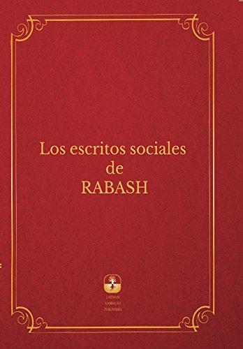 Los Escritos Sociales De Rabash por Baruch Ashlag