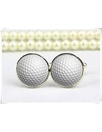 Golf Ball Manschettenknöpfe, Hochzeit Manschettenknöpfe, Golf Manschettenknöpfe