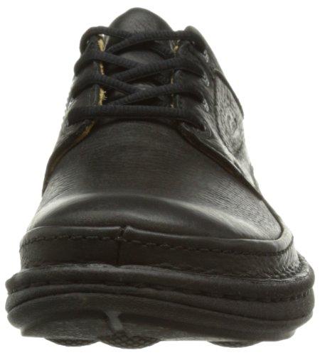 Clarks Nature Three, Chaussures de ville homme Noir (Black Leather)