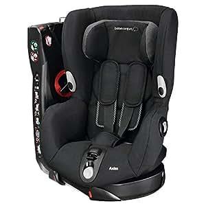 Bébé Confort Axiss Seggiolino Auto 9-18 kg, Gruppo 1 per Bambini dai 9 Mesi ai 4 Anni, Reclinabile e Girevole, Colore Black Raven