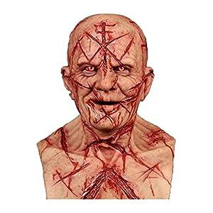 PEKLOKIW Máscara espeluznante para Halloween,