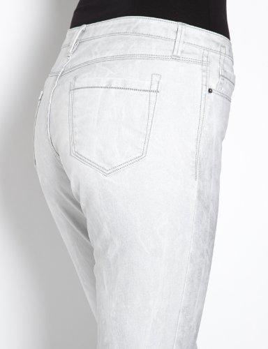 Morgan - Pantaloni, slim, donna Grigio (Gris)