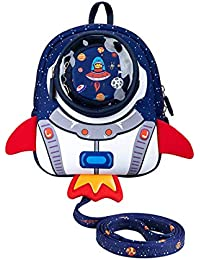 JiePai Toddler Backpack,Animal Kids Backpack 3D Cartoon Boys/Girls Backpack,Backpack for Preschool, Daycare, and Day Trips
