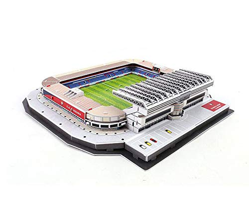 EP-model 3D Fußball-Sportstadion Puzzle-Modell, Osasuna Home ELSA DAR Stadion Modell Fans Andenken DIY Spielzeug