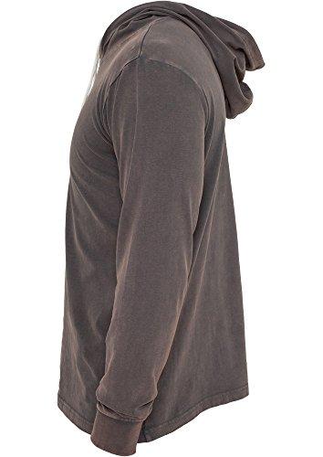 Heavy Peached Hoody Grey