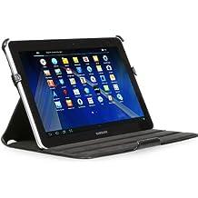 StilGut UltraSlim Case, funda con funcion de soporte para el original Samsung Galaxy Tab 2 10.1, negro