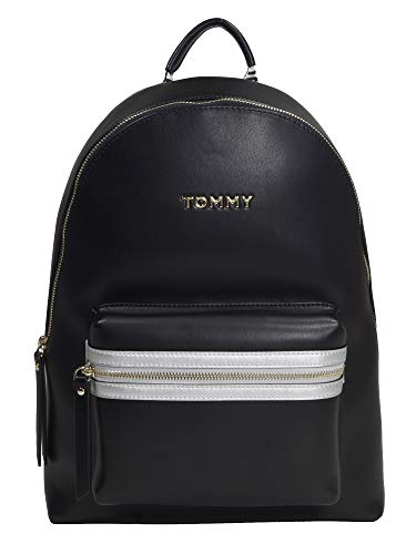 Tommy Hilfiger Rucksack Daypack Iconic Tommy Backpack Schwarz AW0AW06404-002
