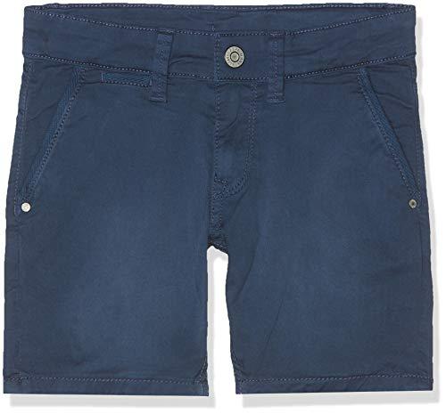 Pepe Jeans Blueburn Short Bañador, Azul Steel Blue 563, 13-14 años Talla del Fabricante:...