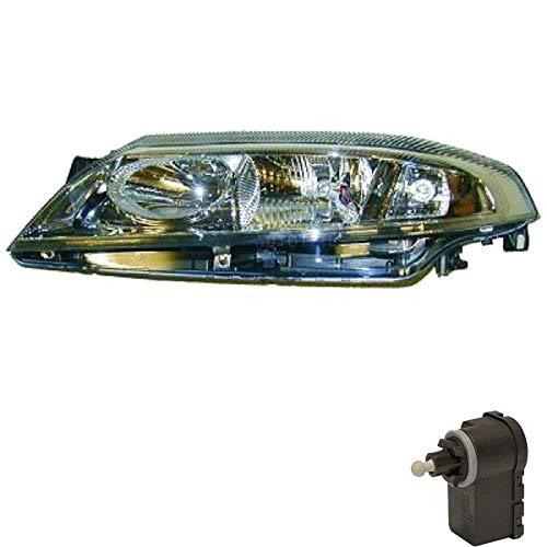 Halogen Scheinwerfer links für Laguna II Phase 1 inkl. Motor H7/H1 ARJ -