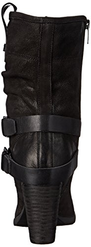 Marc Fisher Famous Cuir Botte Black