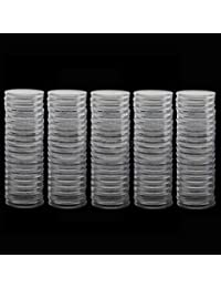 Alcoa Prime 100x Coin Capsules Coin Holder Plastic For Coin Display Holder Box 40mm