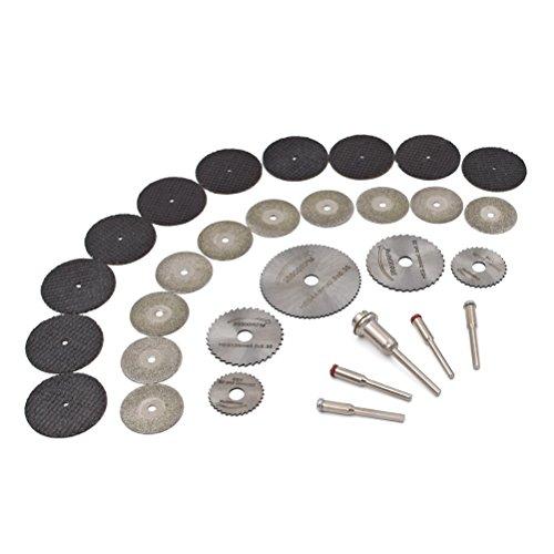 GOXAWEE HSS hojas de sierra Circular herramienta rotarios & Discos Cor