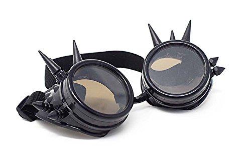 Ultra Schwarz mit Braunen Linsen Spike Premium Qualität -