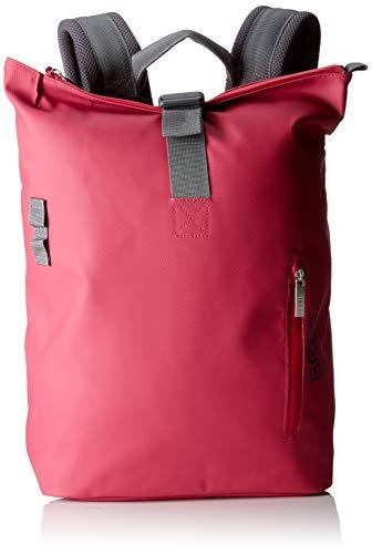 BREE Collection Unisex-Erwachsene Punch 712, Jazzy, Backpack S S19 Rucksack, Pink, 14x36x30 cm