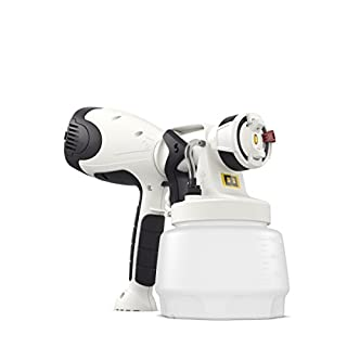 Wagner W 400 Electric Paint Sprayer for Wall & Ceiling paint - interior usage, covers 15 m² in 10 min, 1300 ml capacity, 460 W