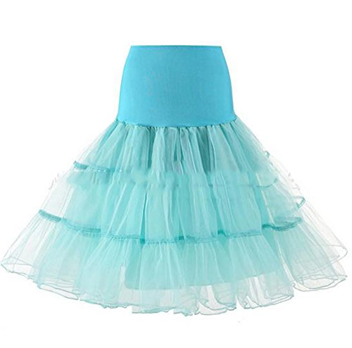 Hippolo Rüschen Petticoat Reifrock Unterrock Underskirt Crinoline Röcke 15