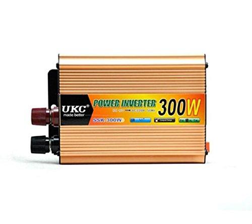 KFZ-Ladegerät Power Inverter Wechselrichter Transformer Auto Spannung Konverter Zigarettenanzünder USB 300W DC 12V auf AC 220V (Jump Starter-pumpe)