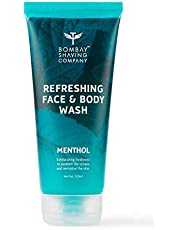 Bombay Shaving Company Menthol Refreshing Face & Body Wash - 200ml