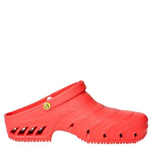 Sanagens 7700 004 Pantoletten Herren Rot