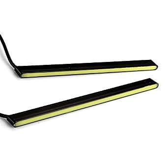 CARCHET® 2x DRL 5W 20 LEDs Feu Lampe Jour Diurne Éclairage Blanc 400LM DC12V 16cm pr Auto