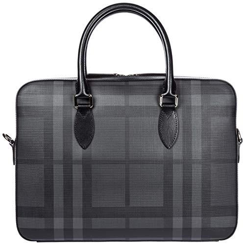 Burberry borsa lavoro portadocumenti pc notebook cartella Hambleton nero