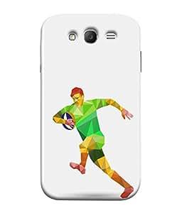 PrintVisa Sporty 3D Hard Polycarbonate Designer Back Case Cover for Samsung Galaxy Grand Neo I9060 :: Samsung Galaxy Grand Lite