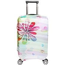 SINOKAL élastique Couvre bagages pour valises couverture de protection (Couverture seulement, ne comprend pas la valise)