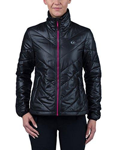 Ultrasport Damen Advanced Lorma Unterzieh-Steppjacke, schwarz/pink, S